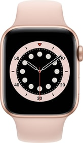 Watch Series 6 GPS 44mm Gold Aluminium Pink Sand Sport Band Smartwatch Apple 785300155473 Bild Nr. 1