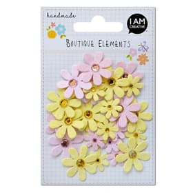Glitter Blume 32 Stk. 666184600000 Bild Nr. 1
