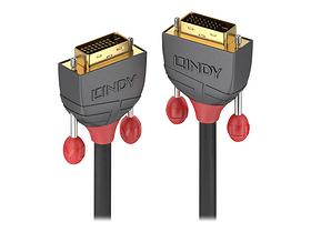DVI-D Dual Link Kabel, Anthra Line 0.5m Kabel LINDY 785300141574 Bild Nr. 1