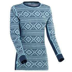 Floke Damen-Langarmshirt Kari Traa 477098800443 Grösse M Farbe marine Bild-Nr. 1
