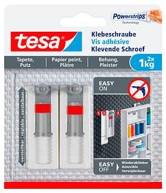 Klebeschraube verstellbar, Tapete & Putz, 1 kg Tesa 675234300000 Bild Nr. 1