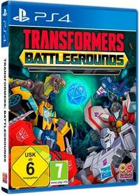 Transformers: Battlegrounds [PS4] (D) Box 785300154615 Photo no. 1