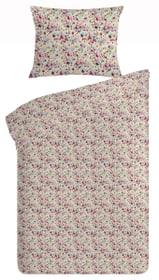 MELISSA Parure de lit en renforcé 451187614437 Couleur Rose vif Dimensions L: 160.0 cm x H: 210.0 cm Photo no. 1