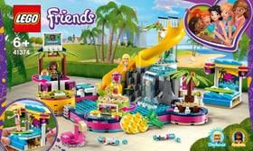 Friends 41374 Andreas Pool-Party LEGO® 748718800000 Bild Nr. 1