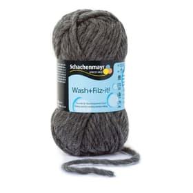Filzwolle «Wash + Filz-it!» Schachenmayr 664746200020 Farbe Grau Bild Nr. 1