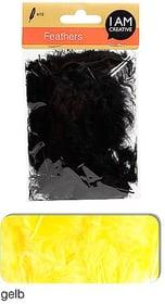 Dekofedern I AM CREATIVE 665525400070 Farbe Gelb Bild Nr. 1