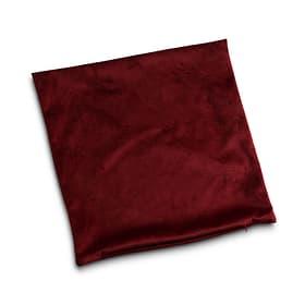 GALANTA Housse de coussin décoratif 378112800000 Dimensions L: 45.0 cm x H: 45.0 cm Couleur Bordeaux Photo no. 1