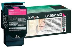 C540A1MG Return  magenta Tonerkartusche Lexmark 785300126676 Bild Nr. 1