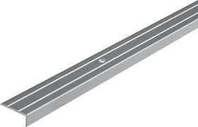 Profilo di chiusura 25 x 10 mm allu argento alfer 605115900000 N. figura 1