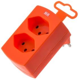 Fiche Multiple 2 x T13 orange  fluorescent