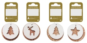 Appendiabiti natalizi decorativi, 6cm Geroma 657642000000 N. figura 1
