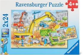 Auf der Baustelle Puzzle Puzzle Ravensburger 748976400000 Bild Nr. 1