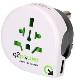 Q2 Power Welt Adapter South Africa USB Reiseadapter q2power 612176700000 Bild Nr. 1