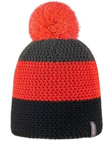 Pudelmütze Blockstreifen Mütze Areco 466886757034 Grösse 57 Farbe orange Bild-Nr. 1