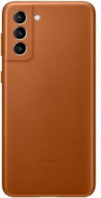 Leather Cover Brown Hülle Samsung 785300157287 Bild Nr. 1