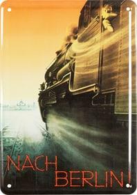 Werbe-Blechschild Nach Berlin 605057900000 Bild Nr. 1