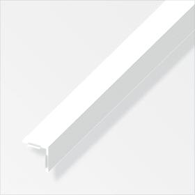 Angolare isoscele 15 x 15 PVC bianco 1 m alfer 605140400000 N. figura 1