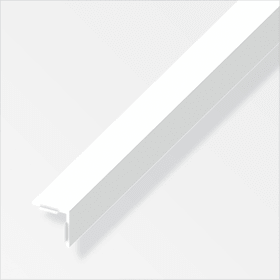 Angolare isoscele 25 x 25 PVC bianco 1 m alfer 605141300000 N. figura 1
