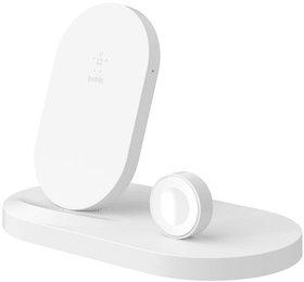 Boost Up Wireless Charging Dock for iPhone + Apple Watch (7,5W) - Blanc Chargeur Belkin 785300150020 Photo no. 1
