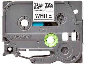 P-Touch TZe-231 ruban – noir sur blanc 12 mm large 5er Pack Étiquettes Brother 785300150031 Photo no. 1