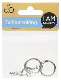 Schlüsselring Clip mit Kette I AM CREATIVE 665278000000 Bild Nr. 1