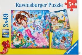 Meerjungfrauen Puzzle Puzzle Ravensburger 748977000000 Bild Nr. 1