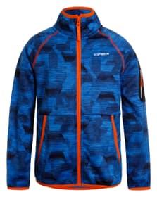 Kalama Veste en polaire pour garçon Icepeak 466815812840 Taille 128 Couleur bleu Photo no. 1