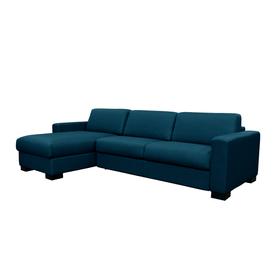 OPUS Canapé-lit 402940000000 Dimensions L: 262.0 cm x P: 204.0 cm x H: 82.0 cm Couleur Bleu Photo no. 1