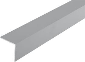 Winkel-Profil gleichschenklig 2 x 40 x 40 mm silberfarben 1 m alfer 605107900000 Bild Nr. 1