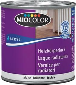 Laque acrylique brillante pour radiateurs