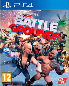 PS4 - WWE 2K Battlegrounds (D) Box 785300154442 Langue Allemand Plate-forme Sony PlayStation 4 Photo no. 1