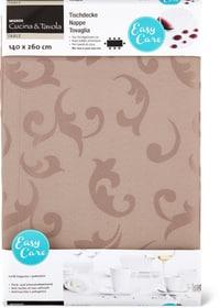 Nappe Ranke Cucina & Tavola 700353520187 Couleur Taupe Dimensions L: 140.0 cm x H: 260.0 cm Photo no. 1