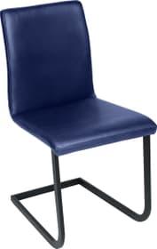SANTORO Chaise en porte-à-faux 402355700040 Dimensions L: 43.0 cm x P: 55.0 cm x H: 86.0 cm Couleur Bleu Photo no. 1