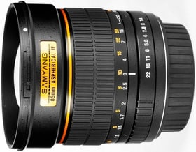 85mm / 1.4 IF Aspherical (Canon) Objectif Objectif Samyang 785300125116 Photo no. 1