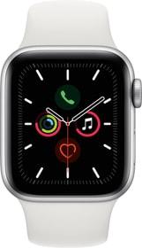 Watch Series 5 LTE 40mm silver Aluminium White Sport Band Smartwatch Apple 785300146926 Photo no. 1