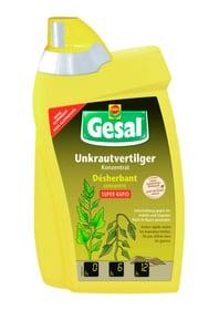 Désherbant  SUPER-RAPID concentré, 800 ml Mauvaises herbes Compo Gesal 658508100000 Photo no. 1