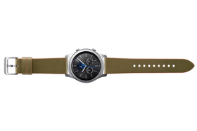 Gear S3 Clas. Leather Band oliva Cinturini Samsung 785300126296 N. figura 1