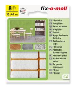 Filzgleiter 3 mm / 44 x 16 mm 8 x Fix-O-Moll 607068700000 Bild Nr. 1