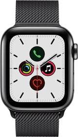 Watch Series 5 LTE 40mm space black Stainless Steel space black Milanese Loop Smartwatch Apple 785300146946 Photo no. 1