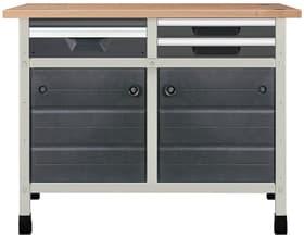 Werkbank No. 7 1130 x 650 x 860 mm 8066 Werkstatt-System Wolfcraft 601457300000 Bild Nr. 1