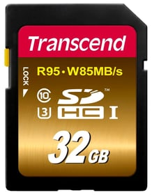 SDHC Card Ultimate R95/W85, Class10, 32GB