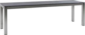 LOCARNO, 200 cm, struttura acciaio inox, piano Ceramica Panca 753193320035 Taglio L: 200.0 cm x L: 35.0 cm x A: 45.0 cm Colore Oxido Flame N. figura 1