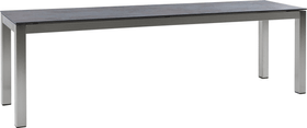 LOCARNO, Gestell Edelstahl, Platte Keramik Gartenbank 753193312035 Grösse L: 120.0 cm x B: 35.0 cm x H: 45.0 cm Farbe Oxido Flame Bild Nr. 1