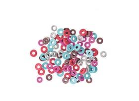 Gummischeiben Mix, koralle 666037900000 Bild Nr. 1