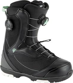 Cypress Boa Dual Scarpone da snowboard Nitro 495532525520 Taglie 25.5 Colore nero N. figura 1