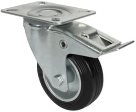 Lenkrolle D100 mm feststellbar Lenkrollen Wagner System 606435900000 Bild Nr. 1