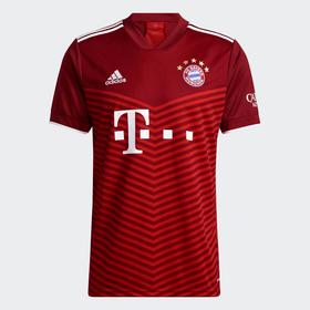 FC Bayern München Replika Home 21/22 Fussball Clubshirt Adidas 491119700430 Grösse M Farbe rot Bild-Nr. 1