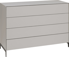 LUX Cassettone 400825600000 Dimensioni L: 120.0 cm x P: 46.0 cm x A: 84.5 cm Colore Talpa N. figura 1