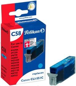 C58  cyan Tintenpatrone Pelikan 785300123291 Bild Nr. 1