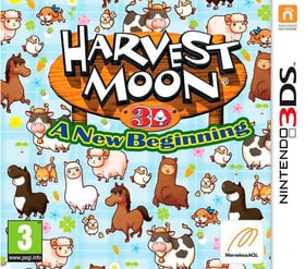3DS - Harvest Moon A New Begining Box 785300121823 Photo no. 1